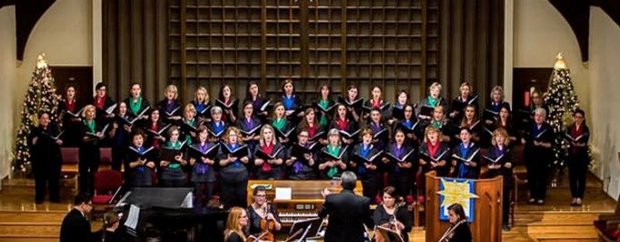 Belle Voci performs a holiday concert