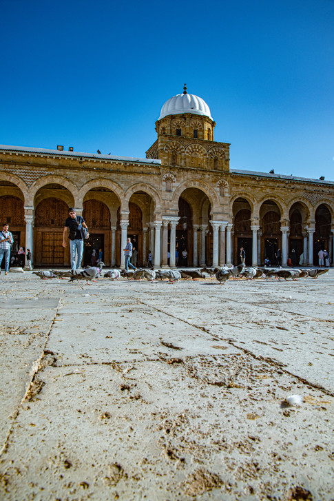 Mosquée Zitouna. La Medina. Tunis.