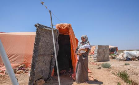 Syrian Refugee Family @Jordan