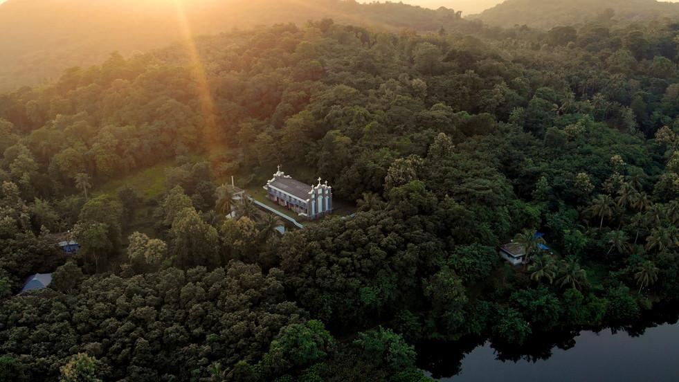 St Michael Malankara Catholic Church. Thrissur. Kerala.
