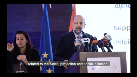 Support to Social Protection Programme : Launch AMMAN