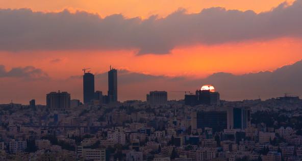 The city with a heartbeat. Amman. Jordan.