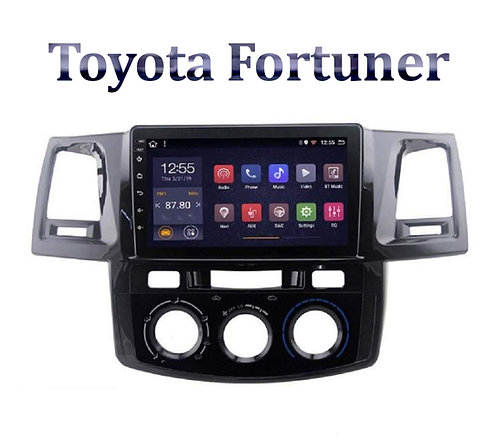 Toyota Old Fortuner 9 Inch Full HD Music System Dashboard