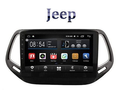 Jeep Compass 9 Inch Full HD Music System Dashboard