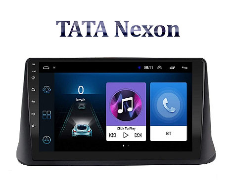 TATA Nexon 9 Inch Full HD Music System Dashboard