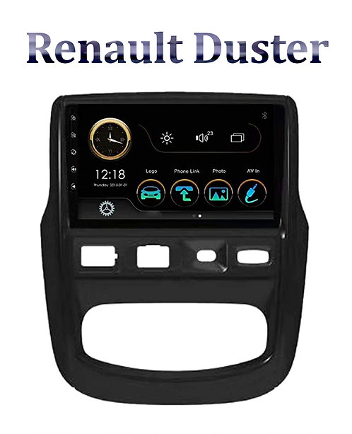 Renault Duster Old 9 Inch Full HD Music System Dashboard