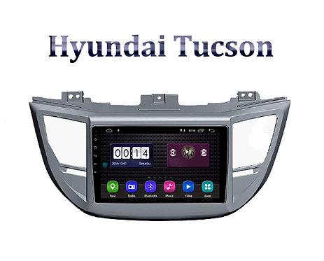 Hyundai Tucson 9 Inch Full HD Music System Dashboard