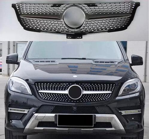 Mercedes Benz ML 2012-2016 Diamond Grille