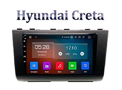 Hyundai Creta 9 Inch Full HD Music System Dashboard
