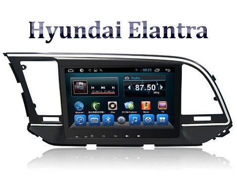 Hyundai Elantra 9 Inch Full HD Music System Dashboard