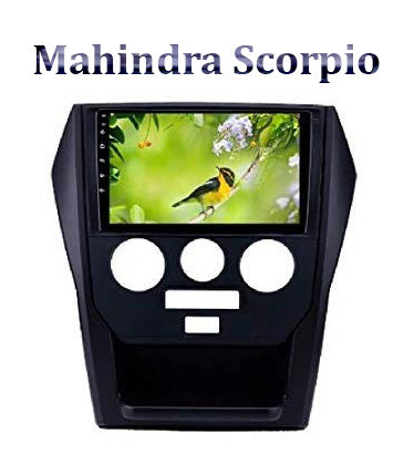 Mahindra Scorpio 9 Inch Full HD Music System Dashboard