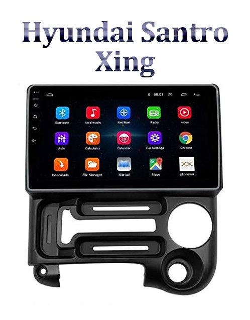 Hyundai Santro Xing 2005-2017 9 Inch Full HD Music System Dashboard