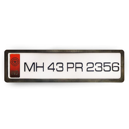 Red IND Acrylic Plate