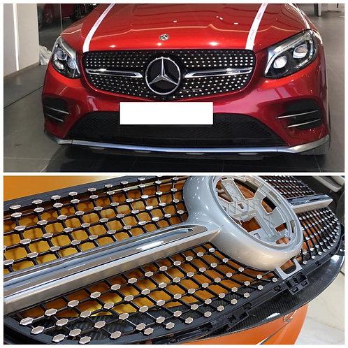 Mercedes Benz GKE 2020-2021 Diamond Grille