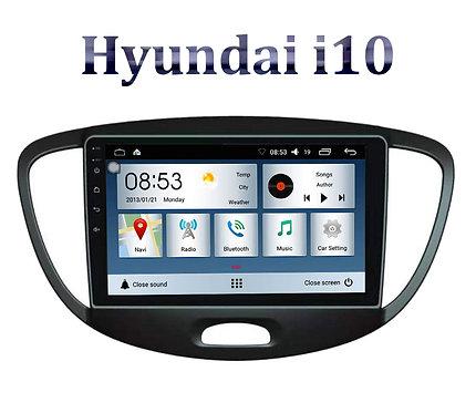 Hyundai i10 2005-2012 9 Inch Full HD Music System Dashboard