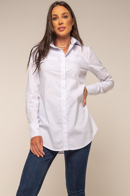 Camisa Nina Morena Alongada