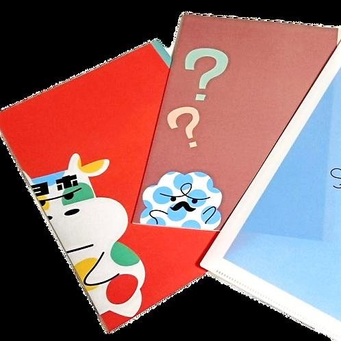 オリジナルキャラクターノート&クリアファイル