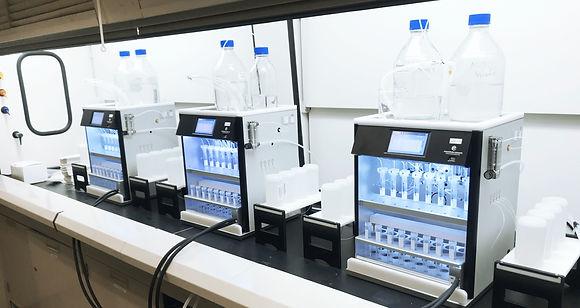 SPE-03 PFAS settings in lab