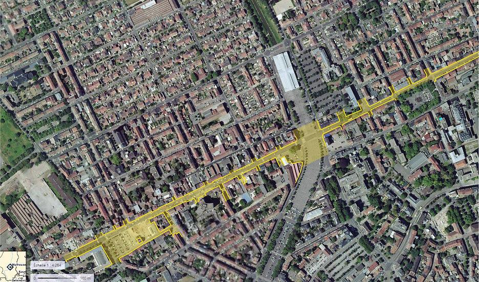 """AMO ANRU+ """"Innover dans les quartiers"""" / Ville de Mulhouse -Quartier Briand NPRU"""