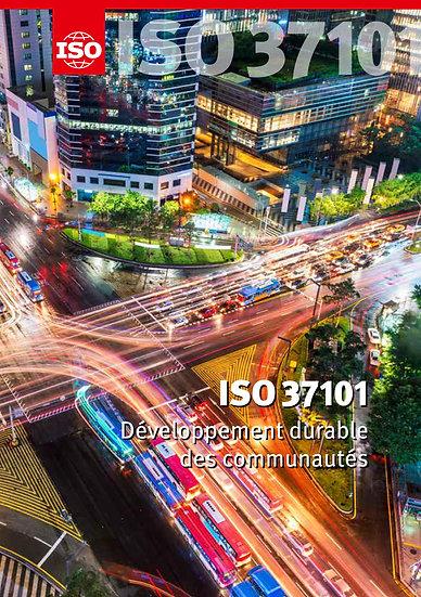 AMO pour l'utilisation et le déploiement de la norme internationale ISO/NF 37101