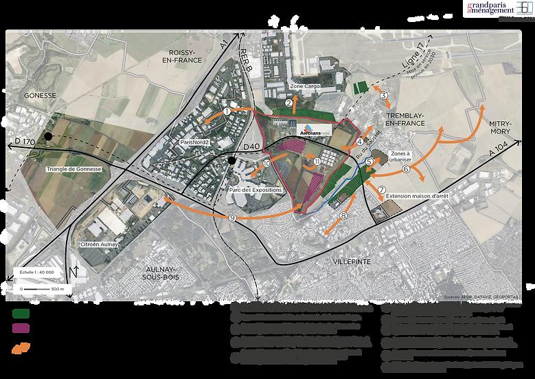 Conseil et suivi de l'étude agriculture urbaine Aérolians