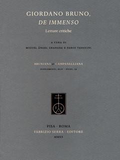 Giordano Bruno, de immenso