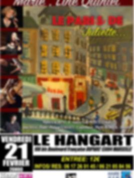 AFFICHE LE PARI DE JULIETTE 21 02 2020