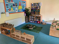 Large activities and writing space