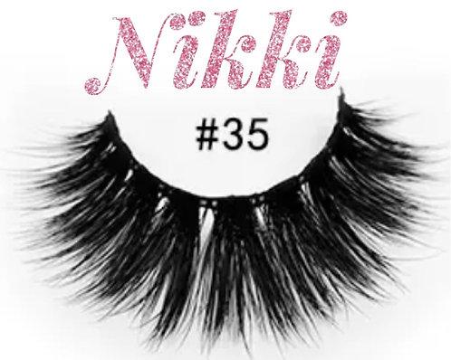 Lashes- Nikki