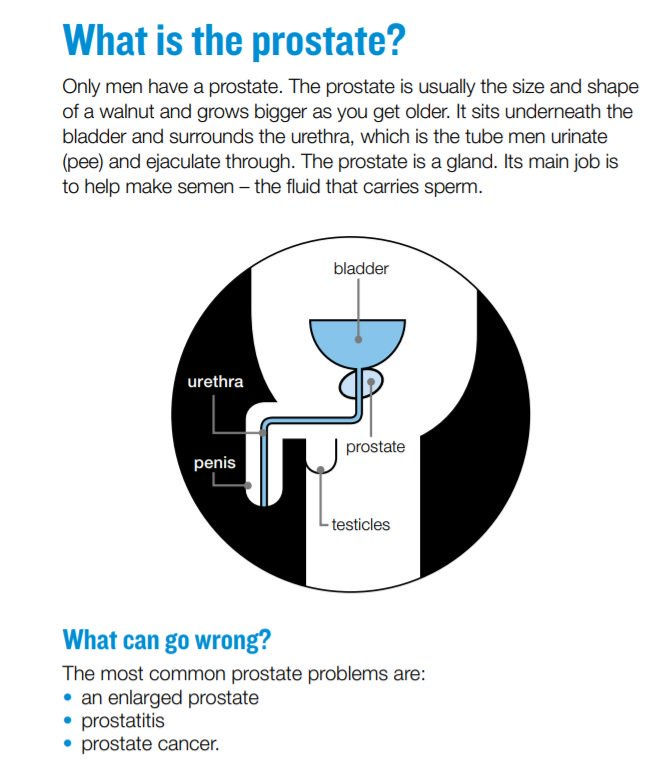 Prostate prblem have sex more often