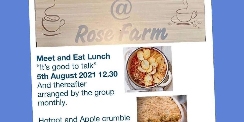 Meet and Eat Group @ Rose Farm Coffee House, Tarporley .