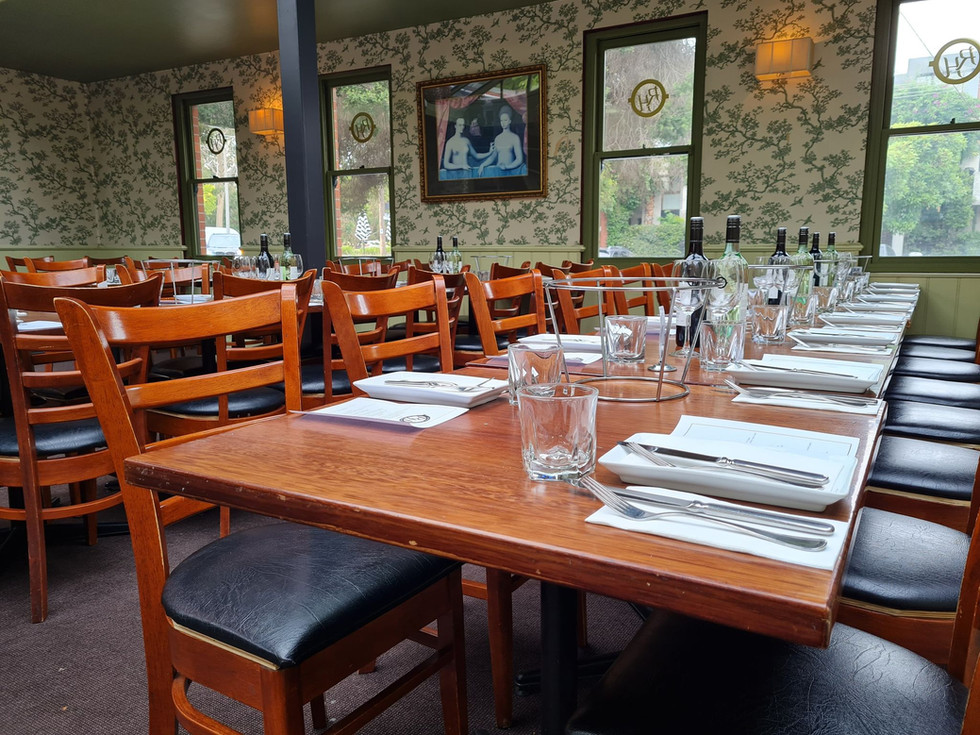 Dining Room - Railway Hotel South Melbourne