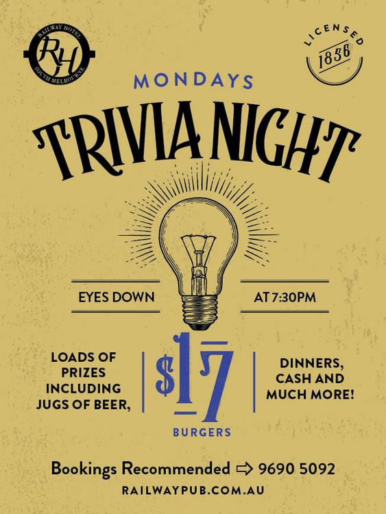 Monday Trivia Night