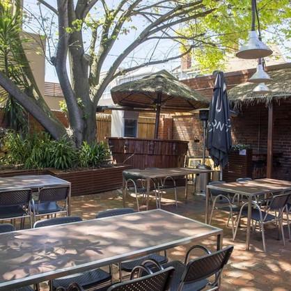 Beer Garden (non smoking dining)
