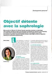 Sophrologie et détente