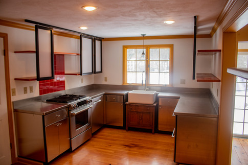 A Stainless Steel Kitchen