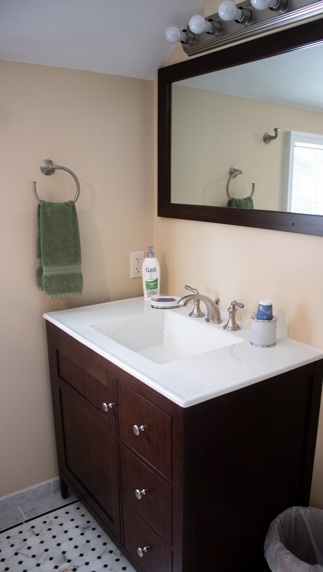 Marble Octagon Mosaic Bathroom