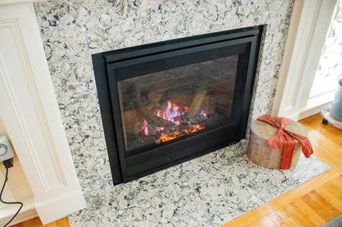 Window & Fireplace Remodel