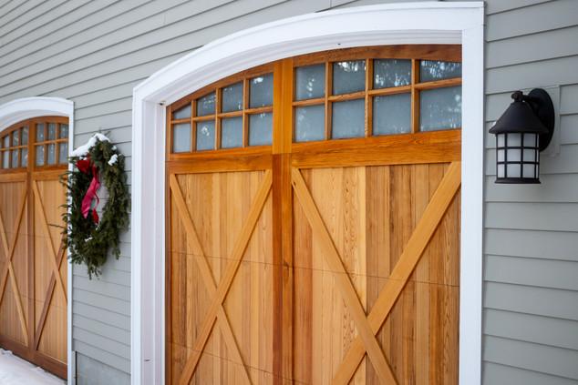 Teak Wood Souble Garage