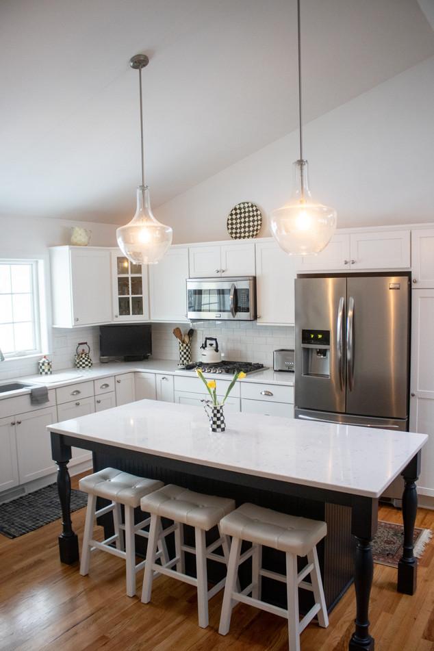 Dream White Kitchen