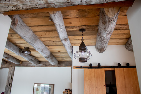Exposed Timber Ceiling