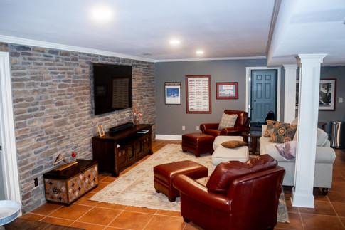 Basement Decorative Wall