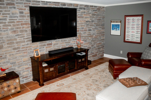 Basement Decorative Wall