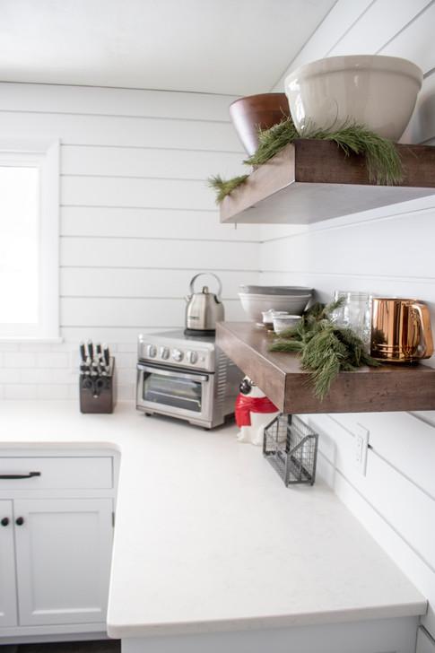 Shiplap Kitchen