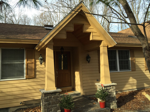 Craftsman Porch Addition