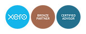 xero-bronze-partner + cert-advisor-badge