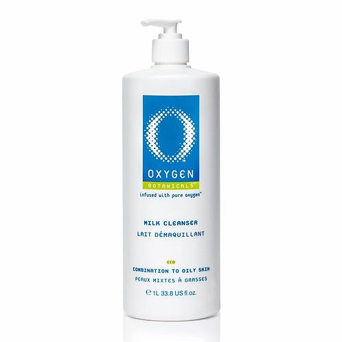 OXYGEN - Lait démaquillant, peaux mixtes à grasses