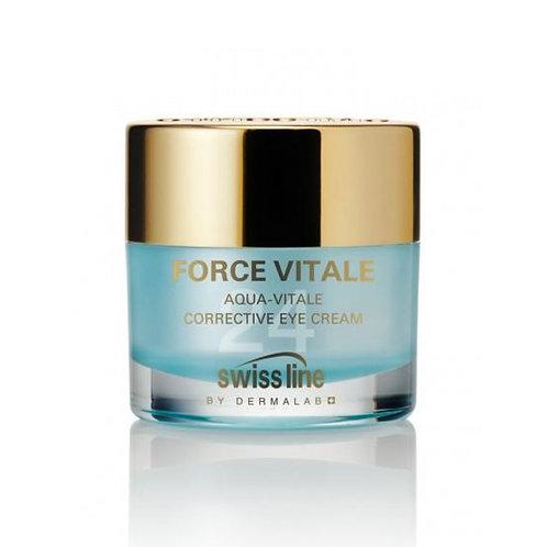 SWISS LINE - Force Vitale, aqua-vitale crème correctrice contour des yeux