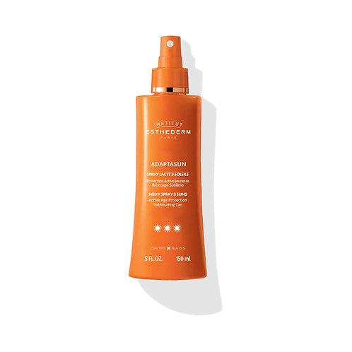 ESTHEDERM - Adaptasun Spray Lacté 3 soleils 150ml