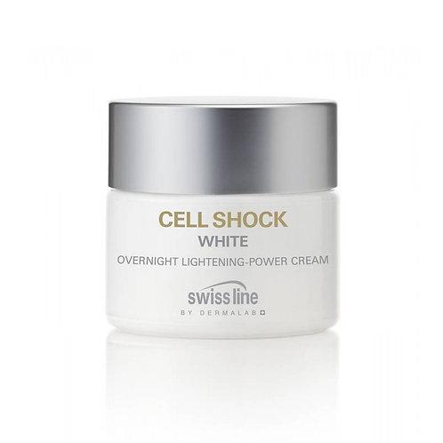 SWISS LINE - Cell Shock White, soin absolu révélateur éclat jour